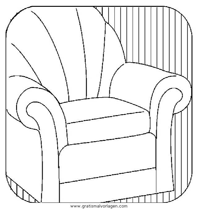 sessel 15 gratis malvorlage in diverse malvorlagen möbel