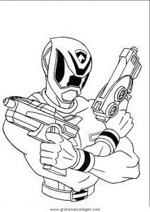 Malvorlage Power Rangers power rangers 02