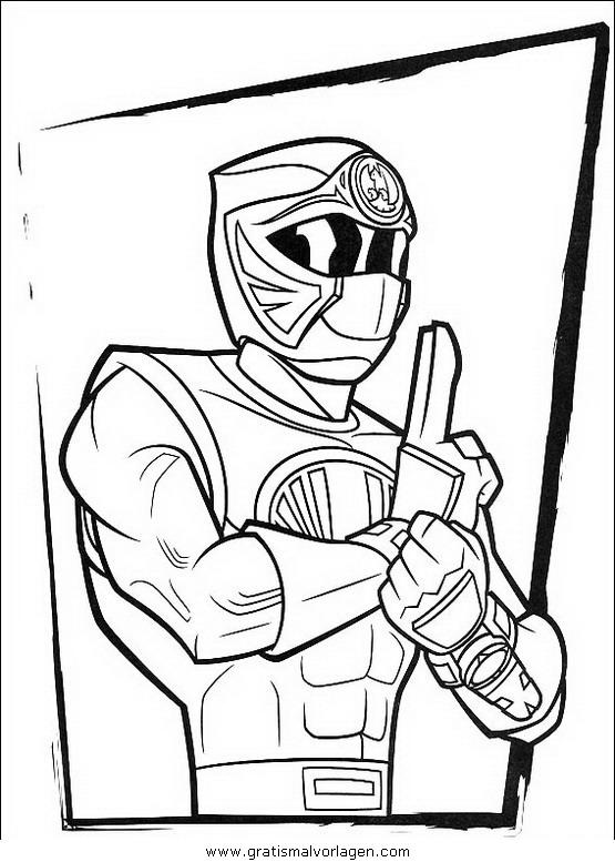power rangers 24 gratis malvorlage in comic