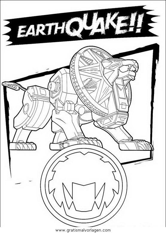 power rangers 43 gratis malvorlage in comic