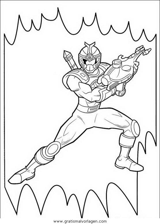 power rangers 53 gratis malvorlage in comic
