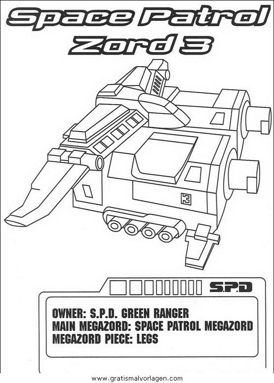 power rangers 61 gratis malvorlage in comic