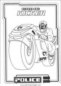 Malvorlage Power Rangers power rangers 64