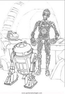 Malvorlage Star Wars star-wars-16