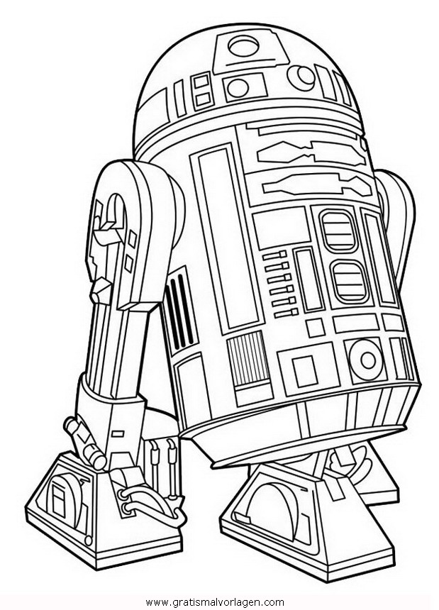 star-wars-35 gratis Malvorlage in Science Fiction, Star ...