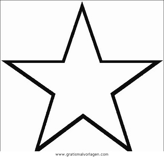 stern 3 gratis malvorlage in diverse malvorlagen