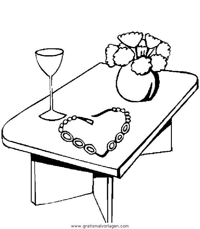 tisch 1 gratis malvorlage in diverse malvorlagen möbel