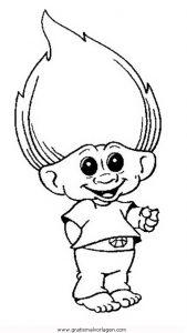 trolls-10 gratis malvorlage in comic  trickfilmfiguren, trolls - ausmalen