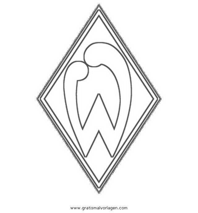 Werder Bremen Gratis Malvorlage In Beliebt04 Diverse Malvorlagen