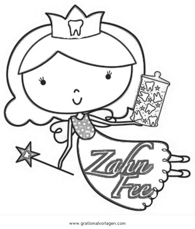 zahnfee-2 gratis Malvorlage in Beliebt04, Diverse Malvorlagen - ausmalen